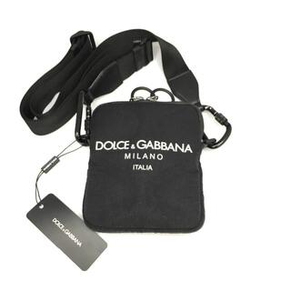 DOLCE&GABBANA - 新品 ドルチェ&ガッバーナ パレルモ テクニコ ロゴ ショルダー バッグ