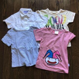 オールドネイビー(Old Navy)の半袖4枚(コーディーコービー、ジャンクストア、オールドネイビー)110(Tシャツ/カットソー)