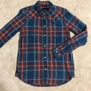 アメリカンイーグル(American Eagle)のamericaneagle チェックシャツ(シャツ/ブラウス(長袖/七分))
