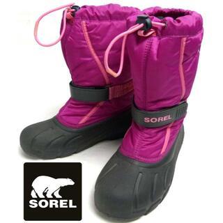ソレル(SOREL)のソレル SOREL ユースフルーリー / スノーブーツ 24cm相当)(ブーツ)