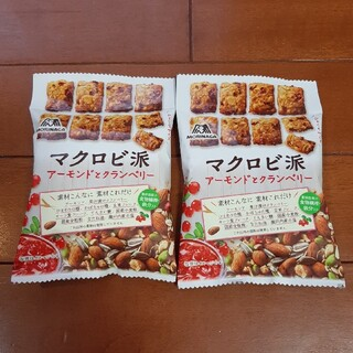 森永製菓 - マクロビ派  マクロビ派ビスケット  アーモンドとクランベリー ビスケット