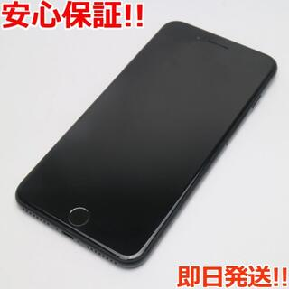 アイフォーン(iPhone)の美品 au iPhone7 PLUS 32GB ブラック (スマートフォン本体)
