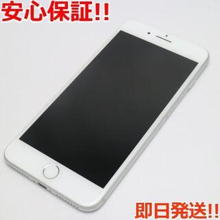 アイフォーン(iPhone)の超美品 au iPhone7 PLUS 32GB シルバー (スマートフォン本体)
