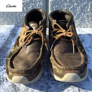 Clarks - レアモデル CLARKS ワラビー 迷彩レザー