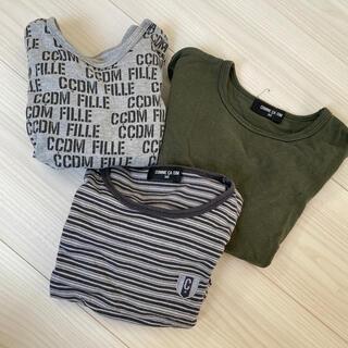 コムサイズム(COMME CA ISM)のコムサ ロンT 三枚セット(Tシャツ/カットソー)