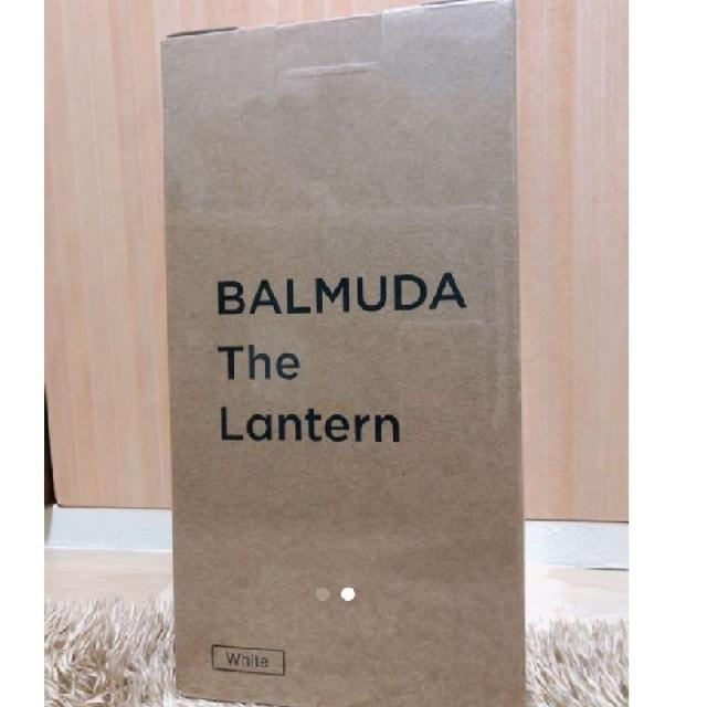 BALMUDA(バルミューダ)のバルミューダ ランタン ホワイト 【新品未開封品】 スポーツ/アウトドアのアウトドア(ライト/ランタン)の商品写真