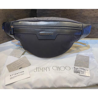 ジミーチュウ(JIMMY CHOO)の【⭐️新品未使用⭐️】JIMMY CHOO  ボディバッグ ウエストポーチ(ボディバッグ/ウエストポーチ)