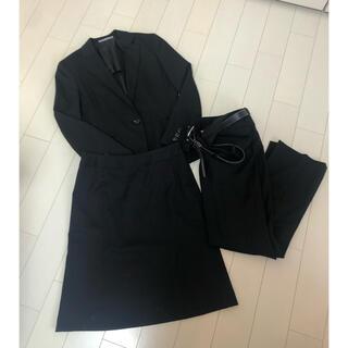アオキ(AOKI)のアオキ LES MUES セット スーツ Sサイズ ブラック(スーツ)