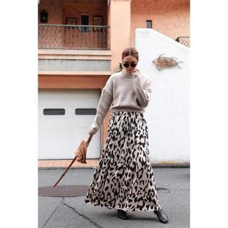 ルームサンマルロクコンテンポラリー(room306 CONTEMPORARY)のroom306 Animal Pattern Maxi Skirt(ロングスカート)