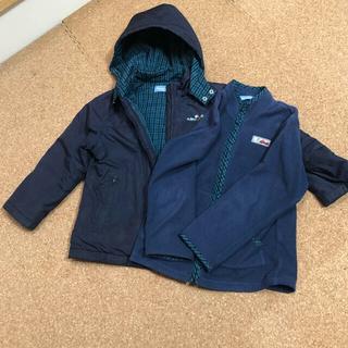 familiar - familiar ファミリア 男子 男の子 ジャケット フリース コート セット