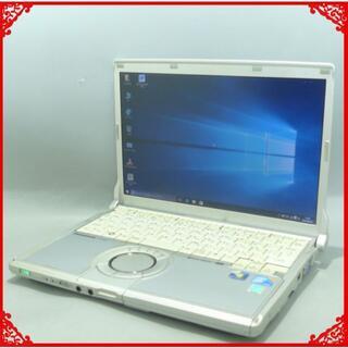パナソニック(Panasonic)の中古ノートパソコン Pana CF-N9JWCDDS i5 250G win10(ノートPC)