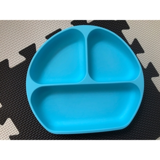 (新品)Bumkins 吸盤付きシリコンプレート(離乳食器セット)