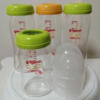 ピジョン(Pigeon)のピジョン 母乳実感 ガラス哺乳瓶 4本セット(哺乳ビン)