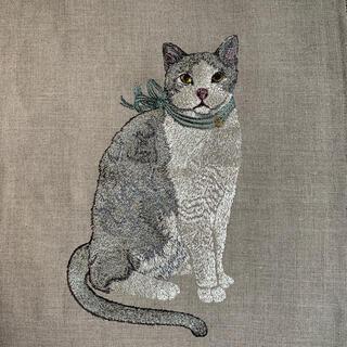 コーラルアンドタスク 猫 クッションカバー(クッションカバー)