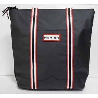ハンター(HUNTER)の定価18000 新品 本物 HUNTER 黒 ブラック トート バッグ 2017(トートバッグ)