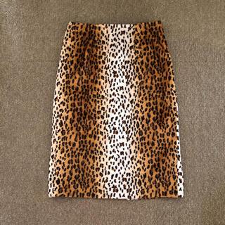Lochie - vintage レオパードタイトスカート