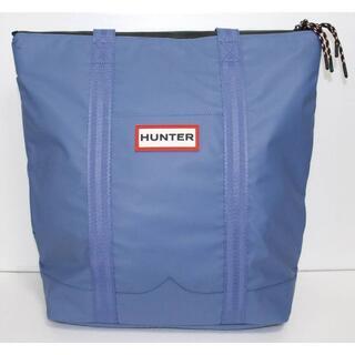 ハンター(HUNTER)の定価18000 新品 本物 HUNTER 青 トート バッグ 2018(トートバッグ)
