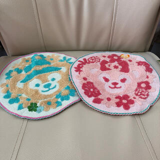Disney - ダッフィー&シェリーメイの円形タオル