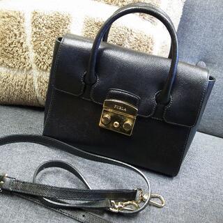 Furla - 正規品☆フルラ メトロポリス 2wayバッグ 黒 バッグ 財布 小物