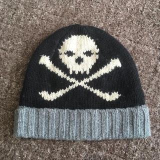 ギャップ(GAP)のGAP ギャップ ドクロ スカル ニットキャップ ベビーキッズ ニット帽 (帽子)
