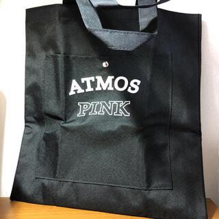 アトモス(atmos)のATMOS PINK 限定カレッジロゴ BIGトートバッグ(トートバッグ)