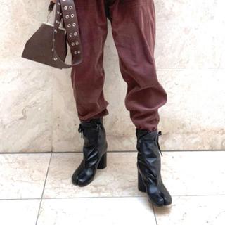 マルタンマルジェラ(Maison Martin Margiela)の35 希少サイズ Tabiブーツ マルタンマルジェラ(ブーツ)