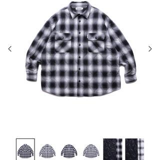 クーティー(COOTIE)のcootie Ombre Check Quilting CPO Jacket(ブルゾン)