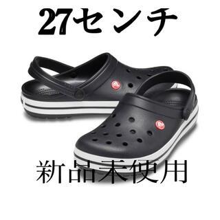 crocs - クロックス ブラック 27センチ メンズサンダル
