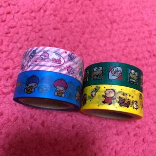 サンリオ(サンリオ)のマスキングテープ♡4つセット(テープ/マスキングテープ)