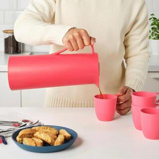 イケア(IKEA)の未使用 IKEA イケア 魔法瓶 BEHÖVD ベホーヴド レッド(廃盤カラー(水筒)