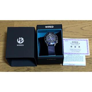 セイコー(SEIKO)のワイアード 腕時計 WIRED セイコー AGAJ404 ブルー(腕時計(アナログ))