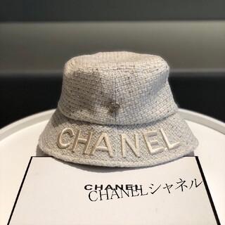 CHANEL - お値下げました Hat ハット ホワイト