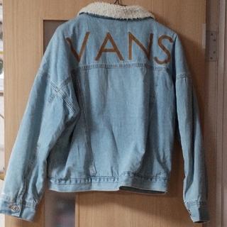 ヴァンズ(VANS)のVANS 裏ボア デニムジャケット 試着のみ タグ付き(Gジャン/デニムジャケット)