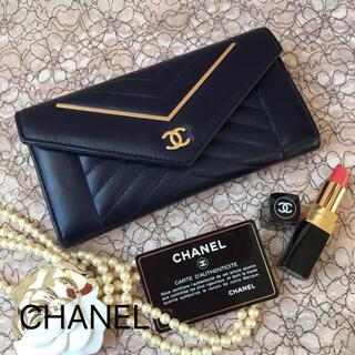 CHANEL - ✨シャネル シェブロン  長財布✨