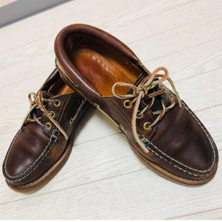 ティンバーランド(Timberland)のTIMBERLAND デッキシューズ 24.5cm(ローファー/革靴)