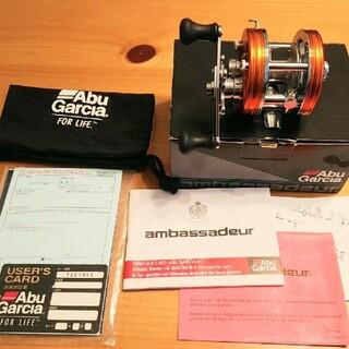 ガルシア(galcia)の新品未使用品☆ABU アンバサダー4500C サンセットオレンジ ブラックバス(リール)