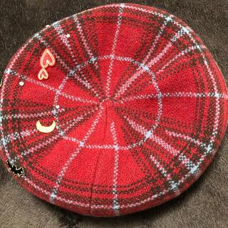 アナスイ(ANNA SUI)のANNA SUI(ハンチング/ベレー帽)