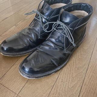 グラム(glamb)のgramb チャッカブーツ 革靴 3 黒(ブーツ)