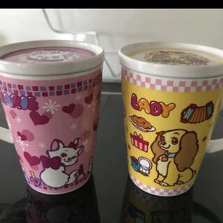 ディズニー(Disney)のディズニーマグカップ蓋付2セット(マグカップ)