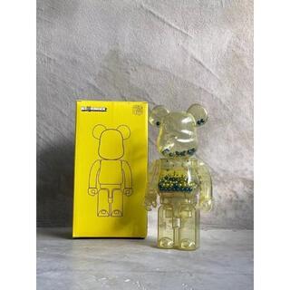 メディコムトイ(MEDICOM TOY)のBearbrick Innersect Yellow  400% TOY(その他)