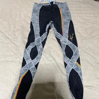 シーダブリューエックス(CW-X)のCWX メンズ サイズM 送料込み スポーツタイツ トレーニング スノボ スキー(レギンス/スパッツ)