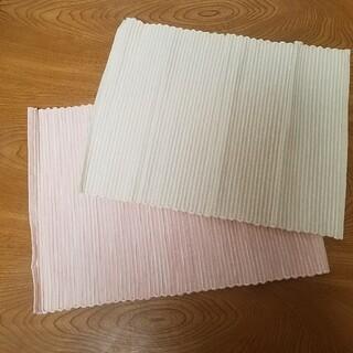 ムジルシリョウヒン(MUJI (無印良品))の未使用新品 Ones terrace ランチョンマット 2枚セット(収納/キッチン雑貨)