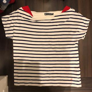 プチバトー(PETIT BATEAU)のプチバトー XS ボーダーTシャツ(カットソー(半袖/袖なし))