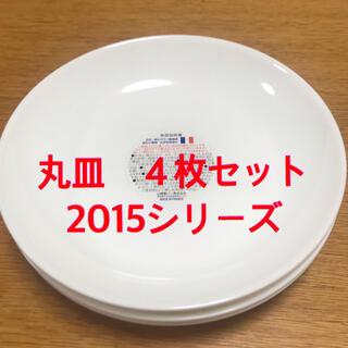 ヤマザキセイパン(山崎製パン)のヤマザキ 白い丸皿(2015)4枚(食器)