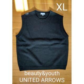 ビューティアンドユースユナイテッドアローズ(BEAUTY&YOUTH UNITED ARROWS)のBEAUTY&YOUTH ウールベスト XL(ベスト)