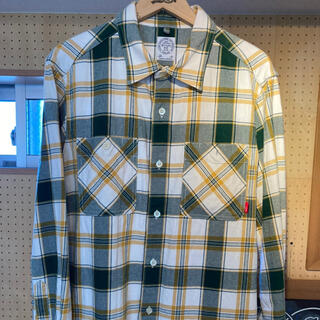 W)taps - チェックシャツ ネルシャツ ダブルタップス