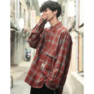 アンユーズド(UNUSED)のessay oversized open collar shirt(シャツ)
