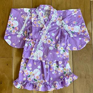 甚平 女の子 浴衣 110 美品(甚平/浴衣)