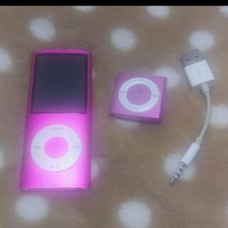 アップル(Apple)のiPod nano iPod shuffle(ポータブルプレーヤー)