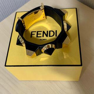 フェンディ(FENDI)のFENDI 黒ブレスレット(ブレスレット)